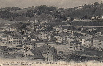 Le Locle - Le Locle in 1907