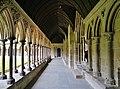 Le Mont-Saint-Michel Abbaye de Mont-Saint-Michel Cloître 08.jpg