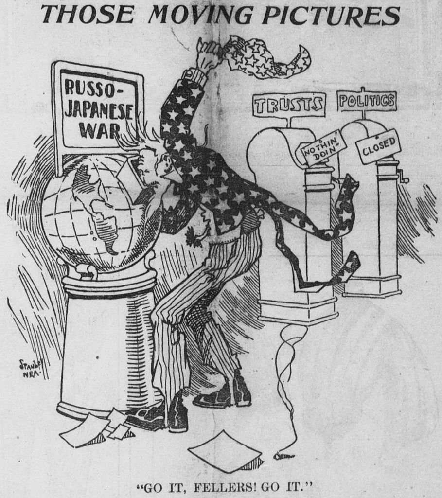 file lee stanley cartoon about american attitudes on war as