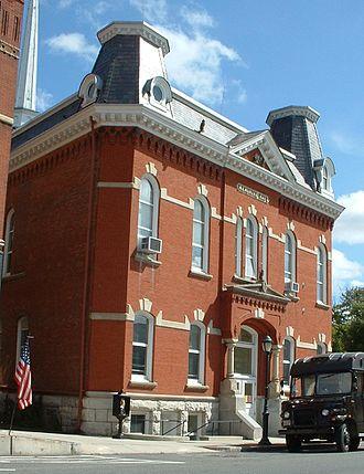 Lee, Massachusetts - Town Hall