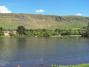 Lennoxtown - Image: Lennoxtown Dam