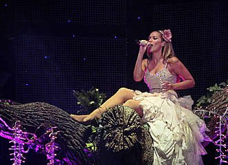 The Labyrinth (tour) - Leona Lewis performing at her show in 2010