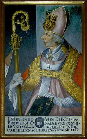 Leonhard von Keutschach - Prince-Archbishop Leonhard von Keutschach