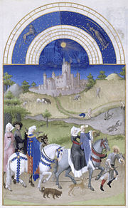 August, from the Très riches heures du duc de Berry