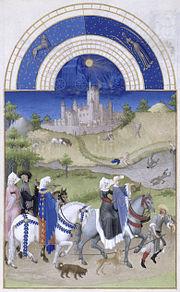 August, from the Très riches heures du duc de Berry