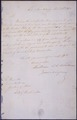 Letter to James Madison, Secretary of State, Announcing the Surrender of Louisiana to the United States by France - NARA - 306704.tif