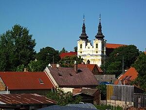Libočany - Image: Libocany church