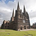Lichfield Cathedral North East Front.jpg