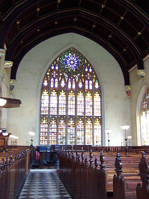 Warburton Lectures - Lincoln's Inn Chapel, traditional venue for the lectures.