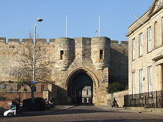 Lincoln, England - East Gate, Lincoln Castle
