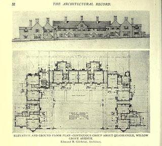 Edmund Gilchrist American architect