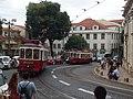 Lisboa, Largo da Sé, bondes (02).jpg