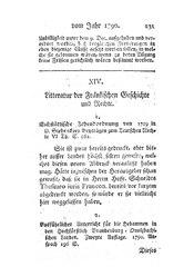 Litteratur der Fränkischen Geschichte und Rechte (Journal von und für Franken, Band 2, 2), S. 231-232