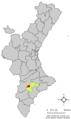 Localització d'Onil respecte el País Valencià.png