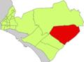 Localització de Sant Jordi respecte del Districte de Llevant.png