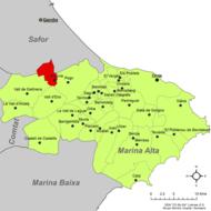Localització de l'Atzúvia respecte de la Marina Alta.png