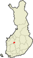 Location of Ähtäri in Finland.png