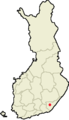 Location of Savitaipale in Finland.png