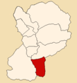 Location of the district Pueblo Libre in Huaylas.png