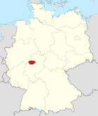 Locator map MR in Germany.svg