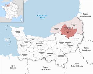 Locator map of Arrondissement Rouen 2018.png