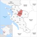 Locator map of Kanton Saint-Jean-d'Angély 2019.png
