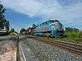 Locomotivas de comboio parado sentido Boa Vista na Variante Boa Vista-Guaianã km 226 em Indaiatuba - panoramio.jpg