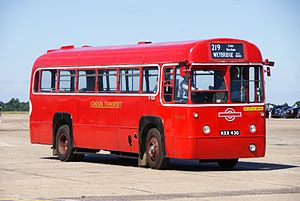 London Transport bus RF453 (MXX 430), 2010 North Weald bus rally.jpg