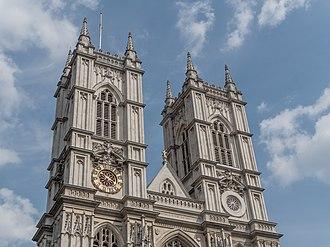 Nicholas Hawksmoor - The west towers of Westminster Abbey