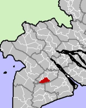 Long Mỹ District - Image: Long My District