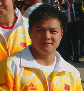 Long Qingquan Chinese weightlifter