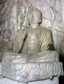 Longmen-hidden-stream-temple-cave-amitabha
