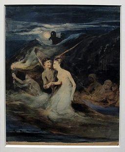 Louis Boulanger - Les Fantômes
