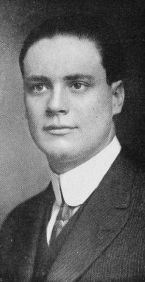 Lowell Dana - Dana pictured in The Cincinnatian 1912, Cincinnati yearbook