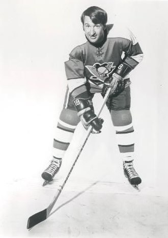 Pittsburgh Penguins - During the mid-1970s, Lowell MacDonald was a paired with Syl Apps Jr. and Jean Pronovost forming the Century Line. MacDonald played with the Penguins from 1970 to 1978.