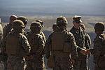 Lt. Gen. Toolan visits Marines on PTA during Exercise Lava Viper 150110-M-QQ799-004.jpg