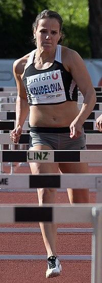 Lucie Koudelová Leichtathletik Gala Linz 2017-7407 (cropped).jpg