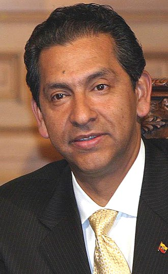 2007 Ecuadorian Constituent Assembly election - Image: Lucio Gutiérrez