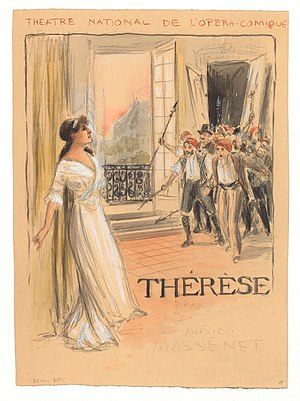 Lucy Arbell in Massenet's Thérèse
