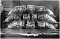 Ludwig Bickell-Hessische Holzbauten-Heft 02 03-1891-014-Frankenberg Balkenkoepfe d ehemal Emporen in der Stadtkirche geschnitten von Philipp Soldan daselbst 1527.jpg