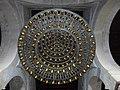 Lustre, salle de prière de la Grande Mosquée de Kairouan.jpg
