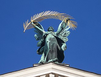 Lviv Theatre of Opera and Ballet - Lviv Opera Sculpture Glory