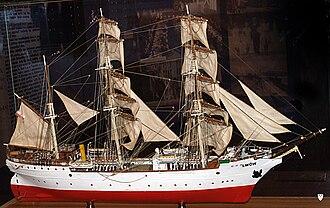 Lwów (ship) - Model of Lwów