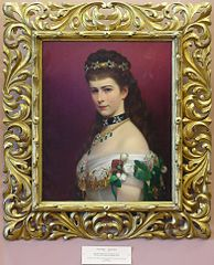 Lwowska Galeria Sztuki - Georg Raab - Portrait of the Empress Elizabeth.jpg