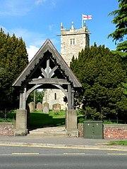 Lych gate of All Saints Parish Church, Shiptonthorpe
