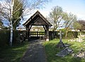 Lych Gate - Great Shelford cemetery - geograph.org.uk - 766785.jpg