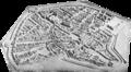 München am Anfang des XVII. Jahrhunderts (Nach dem im Nationalmuseum befindlichen Holzmodell).png
