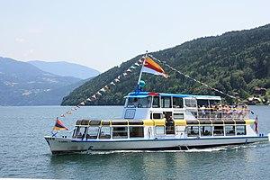 Millstätter See - Passenger tourboat