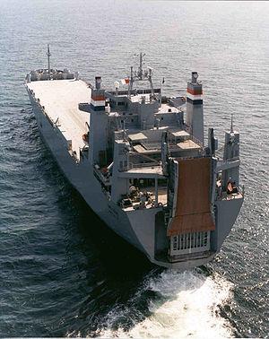 MV Cape Texas (T-AKR-112) - Stern view of MV Cape Texas (T-AKR-112) as sea
