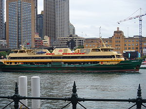 MV Queenscliff Departing Circular Quay.JPG